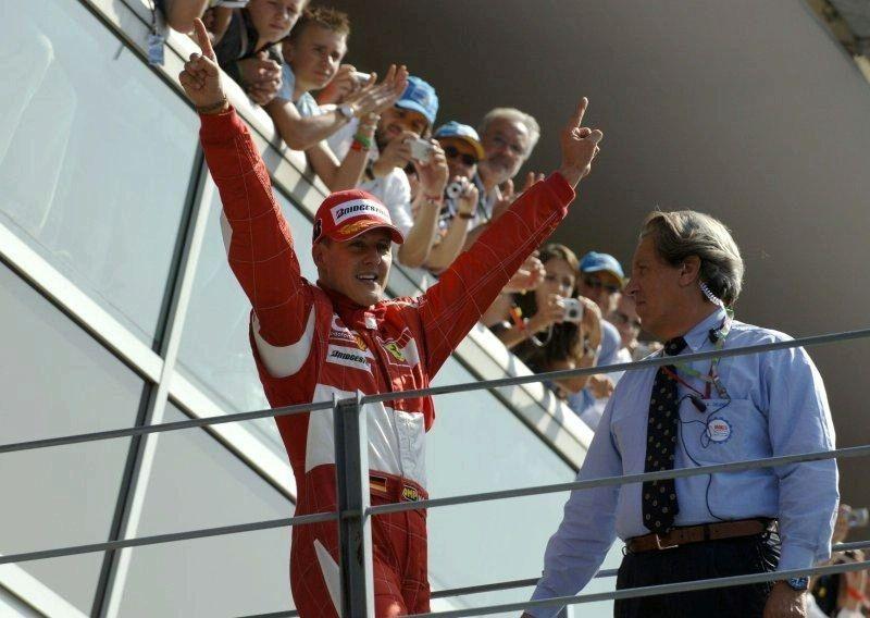 Michael Schumacher returns home
