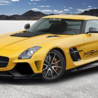 Misha Design Mercedes SLS AMG tuning package introduced