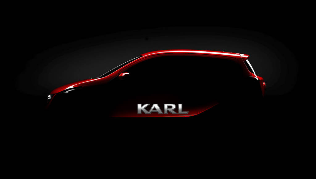 Opel Karl first teaser image
