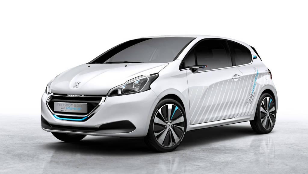 Peugeot 208 Hybrid Air 2L ready for Paris debut