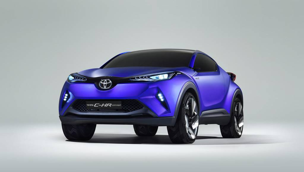 Toyota C-HR Concept fully unveiled