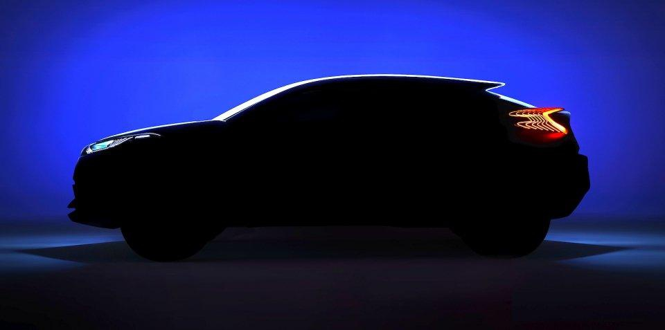 Toyota C-HR Concept to be unveiled in Paris
