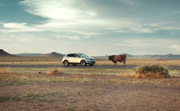 Matthew McConaughey stars in new Lincoln MKC commercial