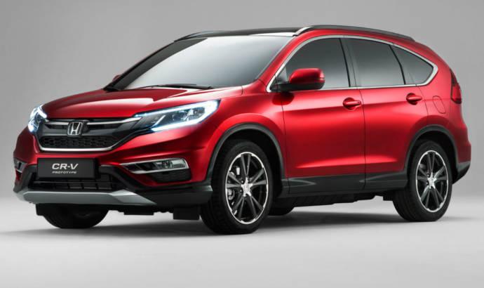 2015 Honda CR-V unveiled ahead of Paris Motor Show