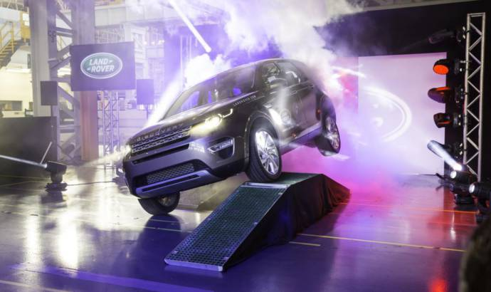 2015 Land Rover Discovery Sport enters production (+Video)