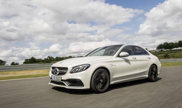 2015 Mercedes-Benz C63 AMG - UK price