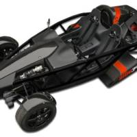 Ariel Atom 3S has 365 HP and a 2.4 liter engine