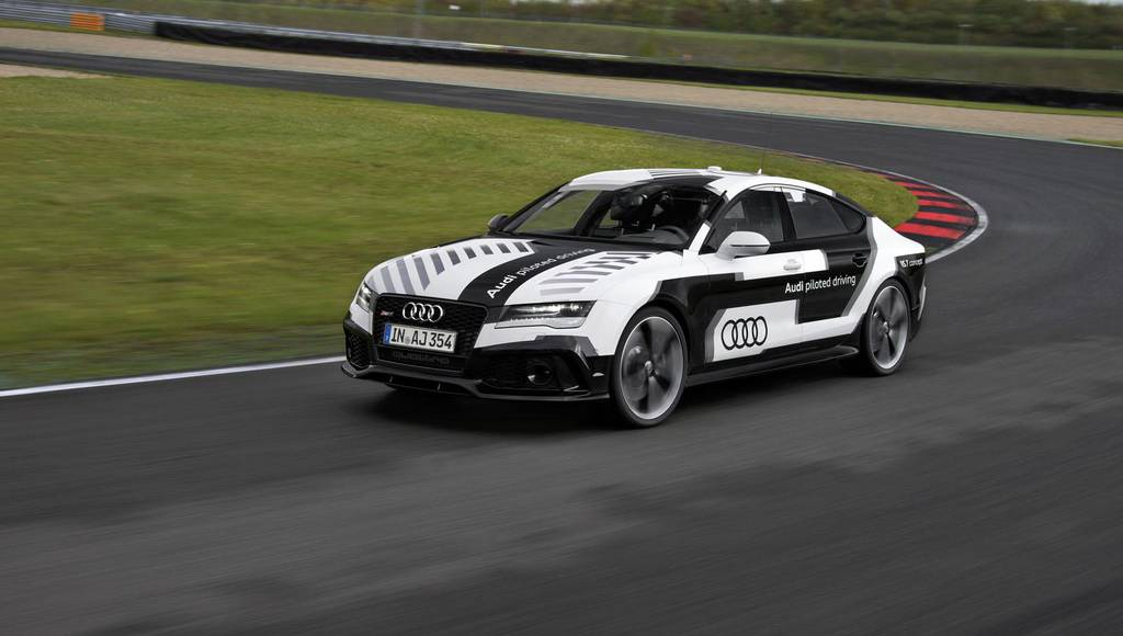 Audi RS7 Piloted Driving Concept makes debut in DTM race