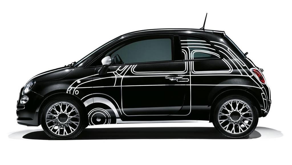 Fiat 500 Ron Arad Edition unveiled