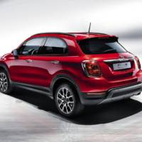 Fiat 500X crossover introduced in Paris