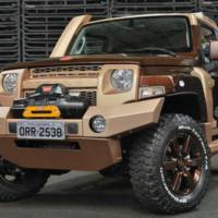 Ford Troller T4 unveiled in Sao Paulo Motor Show
