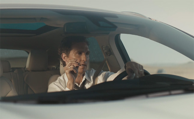 Jim Carrey mocks Matthew McConaughey adds for Lincoln