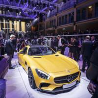 Mercedes-AMG GT flex its muscles in Paris