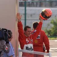 Michael Schumacher is making progress