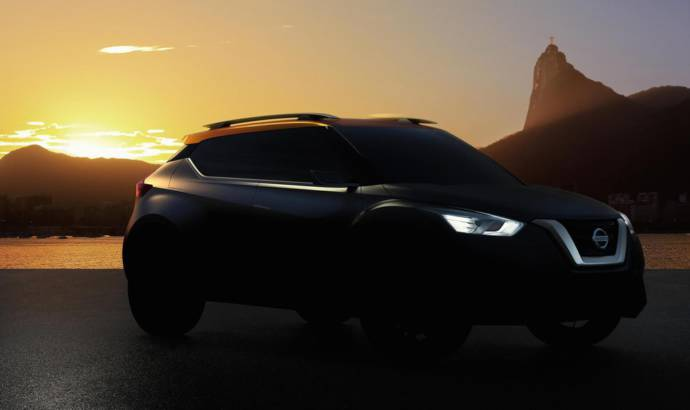 Nissan SUV concept to be unveiled in Sao Paolo