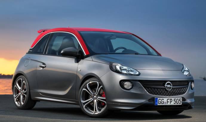Opel Adam S sporty version introduced in Paris Motor Show