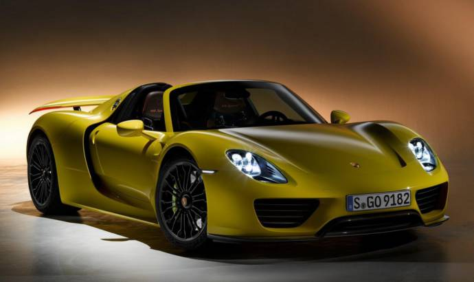Porsche 918 Spyder is almost sold out
