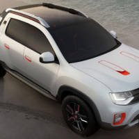 Renault Duster Oroch Concept officially revealed