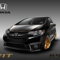 Six Honda Fit Project Vehicles for SEMA 2014