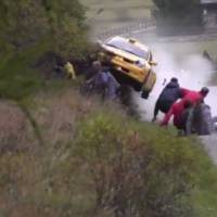These are the luckiest rally spectators in the world