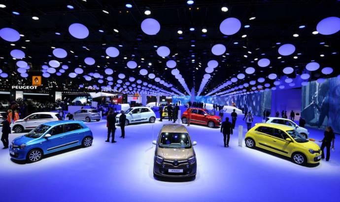 2014 Paris Motor Show record number of visitors