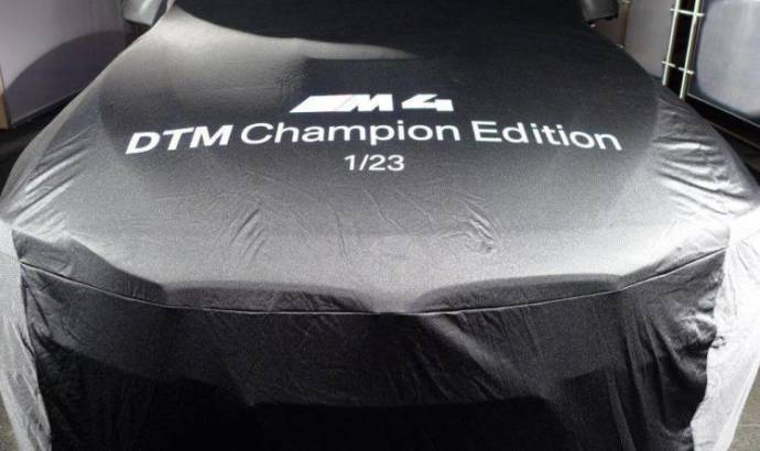 BMW M4 DTM Champion Edition - First teaser picture