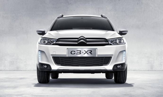 Citroen C3-XR unveiled for Chinese market
