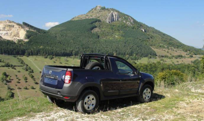 Dacia unveiled Duster Pick-Up thanks to Romturingia coachbuilder