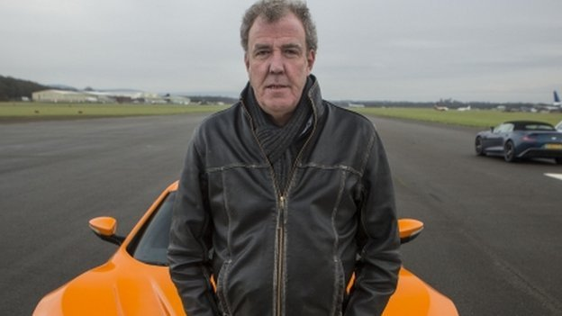 Jeremy Clarkson got busted for speeding