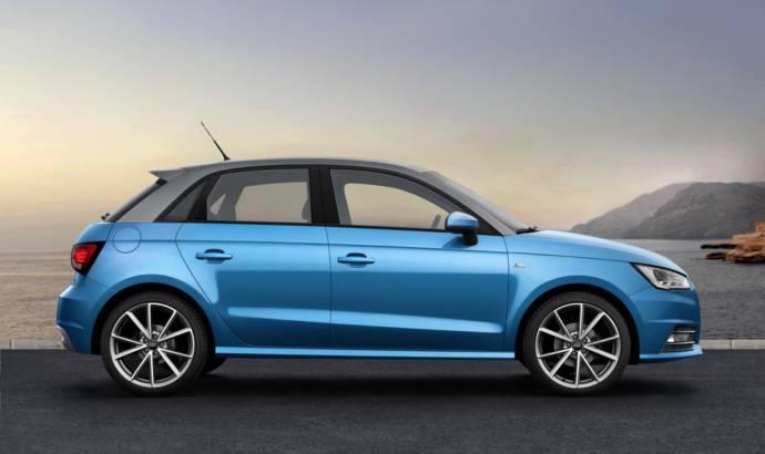 2015 Audi A1 facelift unveiled