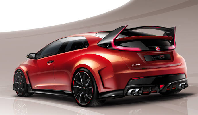 2015 Honda Civic Type R anticipated by a new teaser video