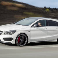 2015 Mercedes-Benz CLA Shooting Brake - Official pictures and details