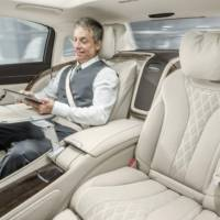 2015 Mercedes-Maybach S-Class officially unveiled in Los Angeles