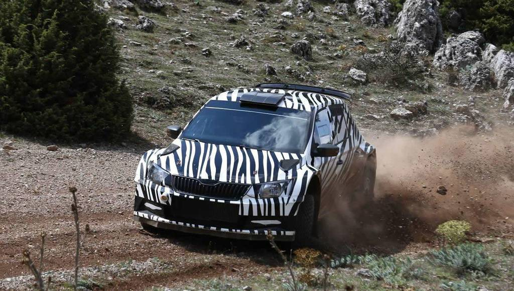 2015 Skoda Fabia R5 teased with a video