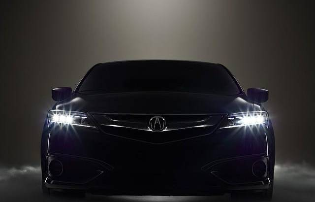 2016 Acura ILX revealed in teaser photo