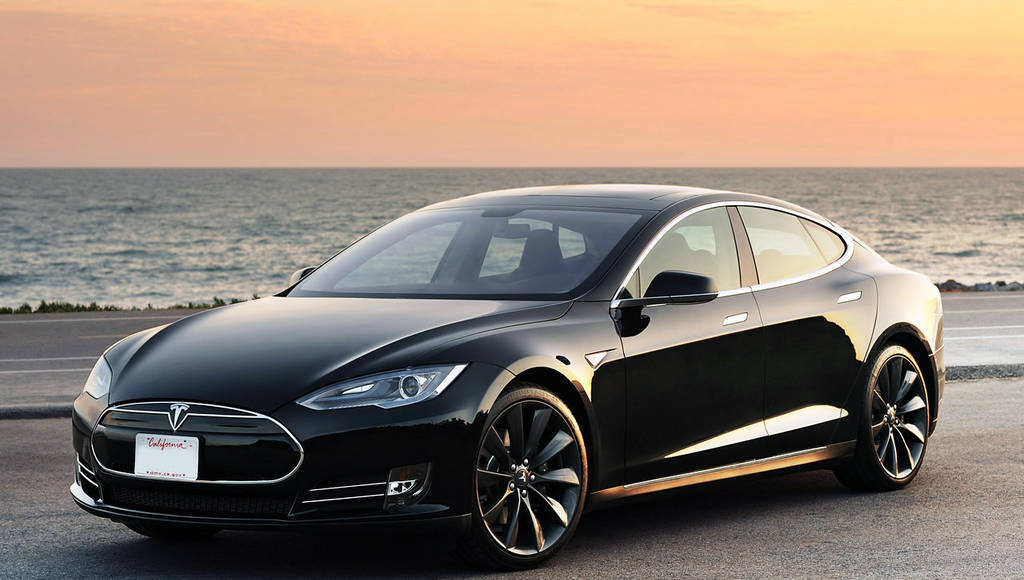 Another UK review with the Tesla Model S