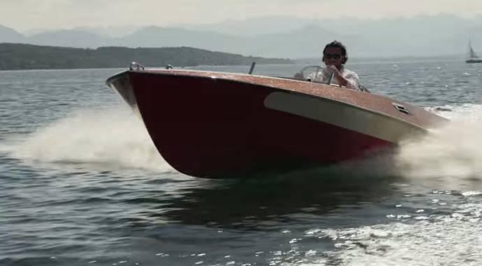 BMW 507-inspired boat - Presentation movie