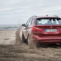 BMW offers xDrive four-wheel drive system on 2 Series Active Tourer