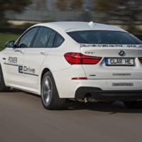 BMW unveils the 5 Series GT Power eDrive Concept