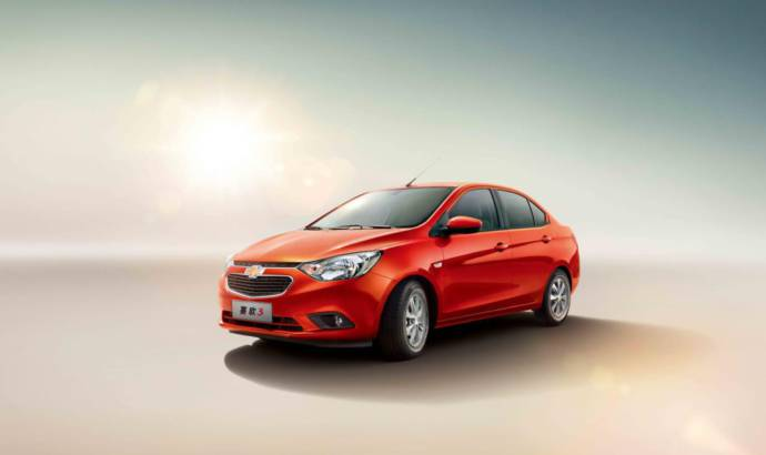 Chevrolet Sail 3 unveiled in China