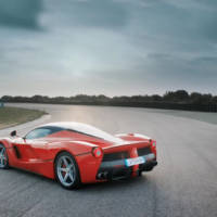 Chris Harris drives the Ferrari LaFerrari