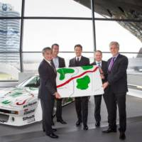 Japanese car collector receives BMW M1 Procar