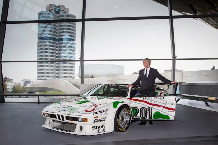 Japanese car collector receives BMW M1 Procar