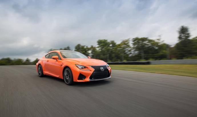 Lexus RC F Coupe prices and specification