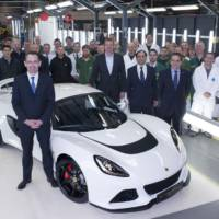 Lotus Exige S reaches 1000 units produced