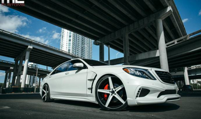 MC Customs tuning kit for Mercedes S550