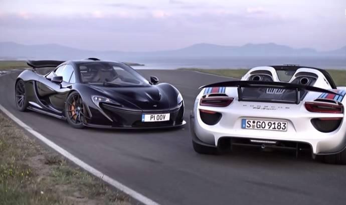 VIDEO: McLaren P1 face to face with Porsche 918 Spyder