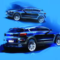 Qoros 3 City SUV teased ahead of debut in Guangzhou Motor Show