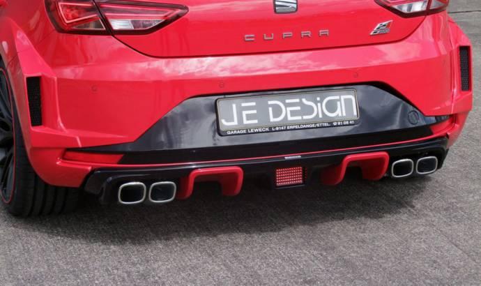 Seat Leon Cupra receives JE Design treatment