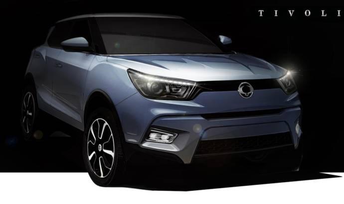 Ssangyong Tivoli will rival the Nissan Juke